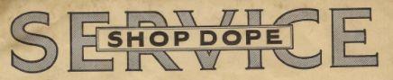 Factory Instruction Sheets/ Service Bulletins / Shop Dope's